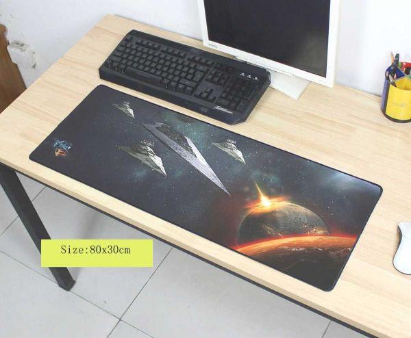 Gamingpads 800mm, XL Mousepads für Gamer, Planet